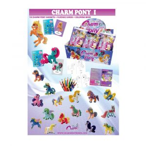 Póster Colección Charm Pony1