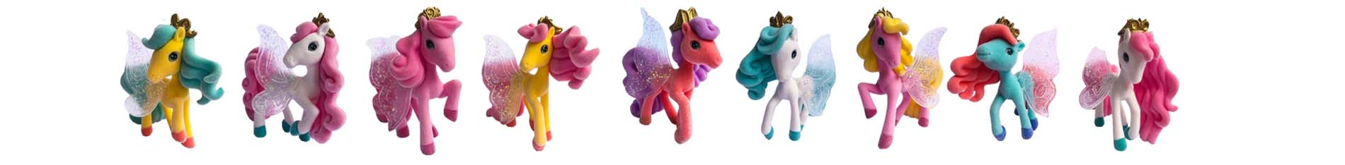 Colección completa Lovely Charm Pony II Distribox