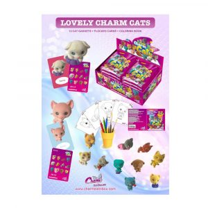 Póster Colección Lovely Charm Cats